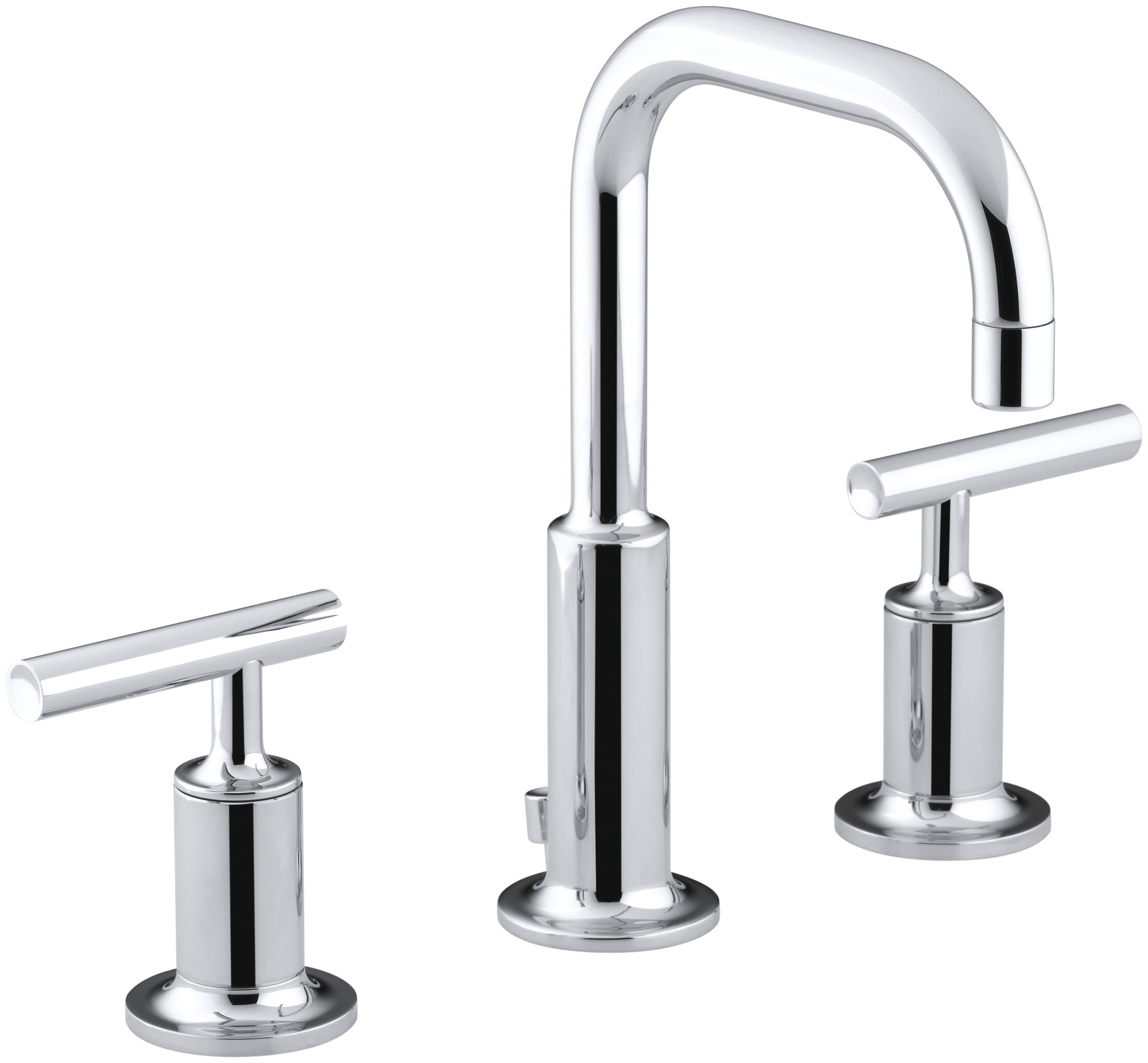 Kohler Purist Bathroom Faucet. K 14406 4 Bgdblbn Kohler Purist Widespread Bathroom Faucet With Drain Assembly Reviews Wayfair