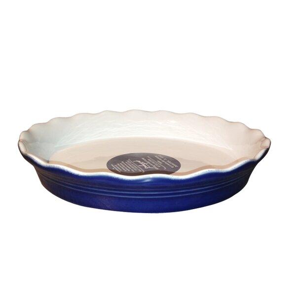 Claudia Pie Dish by Euro Ceramica