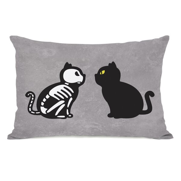 Face Off Lumbar Pillow by The Holiday Aisle