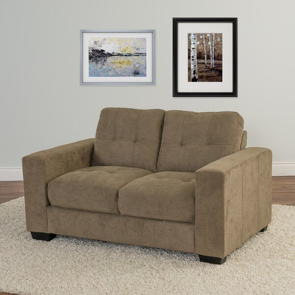 Cheapest Price For Kaye Loveseat by Latitude Run by Latitude Run