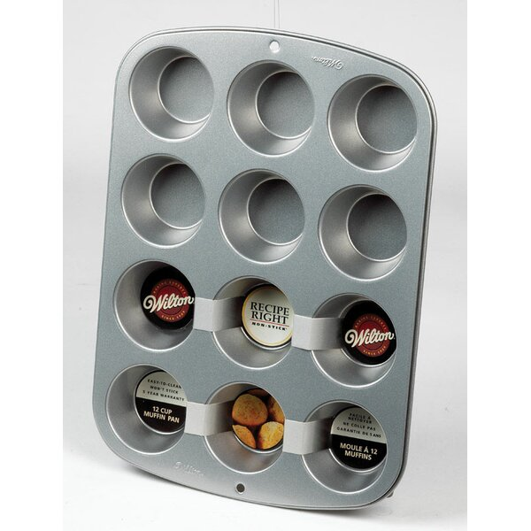 12 Cup Non-Stick Muffin Pan by Wilton