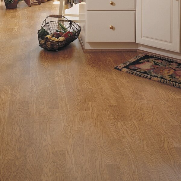 Bronson 8 x 51 x 8mm Washington Oak Laminate Flooring in Honey by Serradon