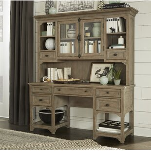 Ellenton Secretary Desk With Hutch