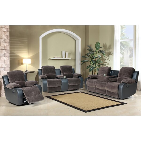Wrenly 3 Piece Reclining Living Room Set by Red Barrel Studio