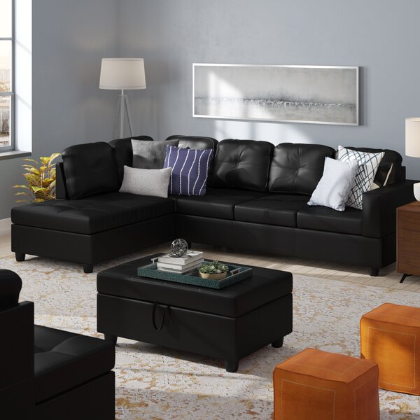 Looking for Faunce Sectional With Ottoman By Winston Porter Spacial Price