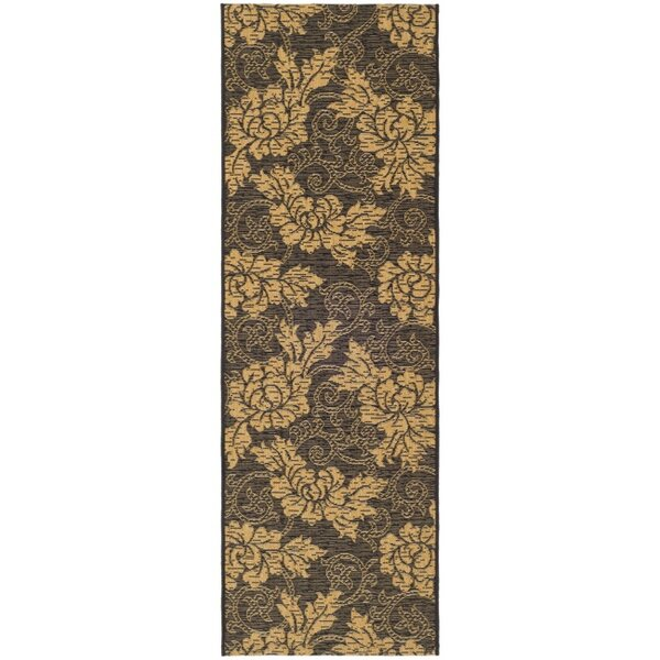 Laurel Black/Gray Indoor/Outdoor Area Rug by August Grove