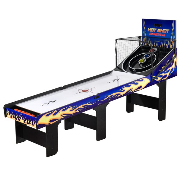 Hot Shot 8-ft Arcade Ball Table by Hathaway Games
