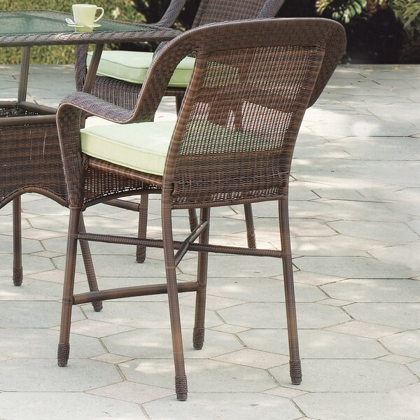 Key West Counter Height Dining Chair with Cushion by South Sea Rattan