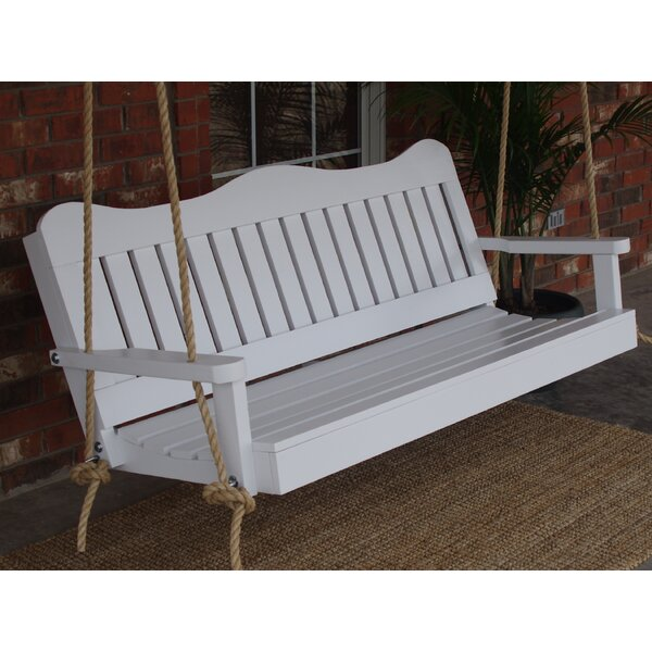 Kerri Rope Porch Swing by Highland Dunes
