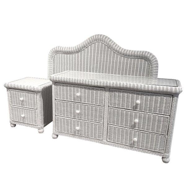 Watkins 3 Piece Dresser Set by Bay Isle Home Bay Isle Home