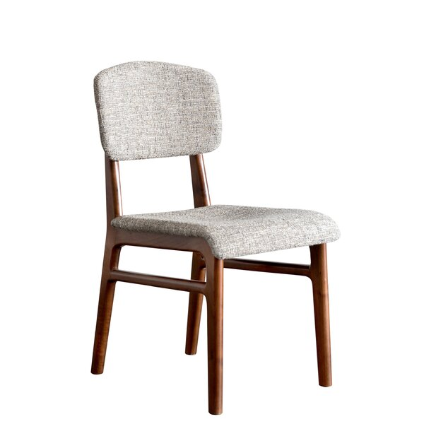 Karla Mid Century Modern Upholstered Dining Chair (Set of 2) by Gingko Home Furnishings
