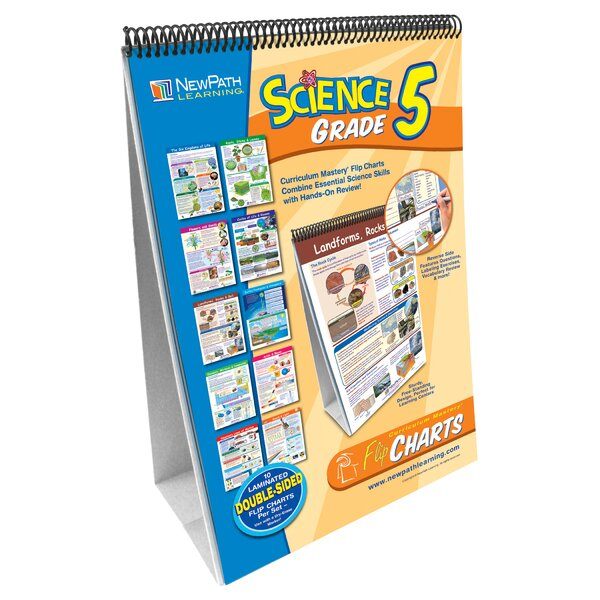 Science Flip Grade 5 Chart (Set of 5) by New Path Learning