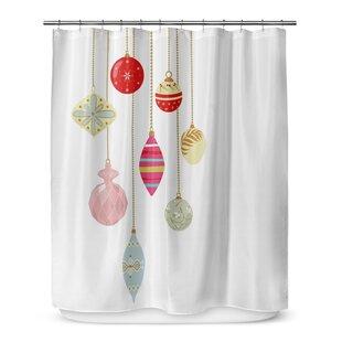 Online Reviews Christmas Bling 72 Shower Curtain ByKAVKA DESIGNS