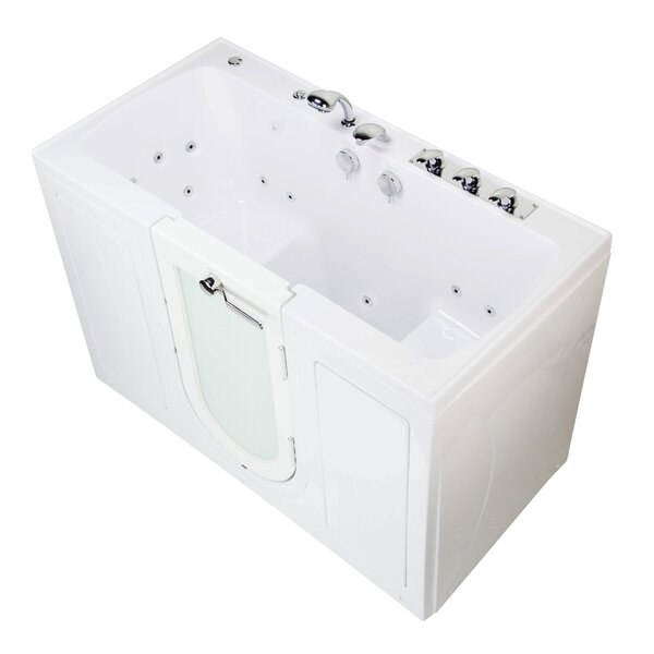 Tub4Two 60 x 30 Walk-in Air Bathtub by Ella Walk In Baths