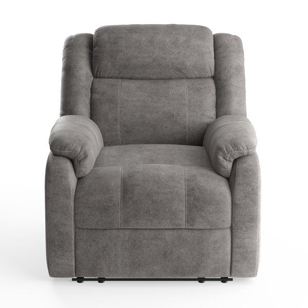 Avalon Gray Recliner By American Wholesale Furniture