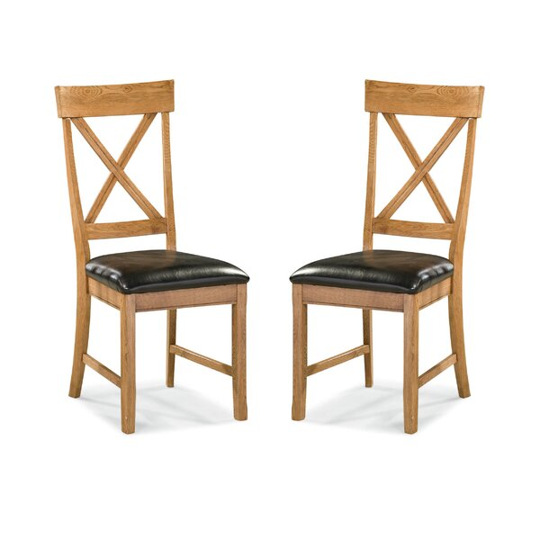 Whipple X-Back Side Chair (Set of 2) by Millwood Pines