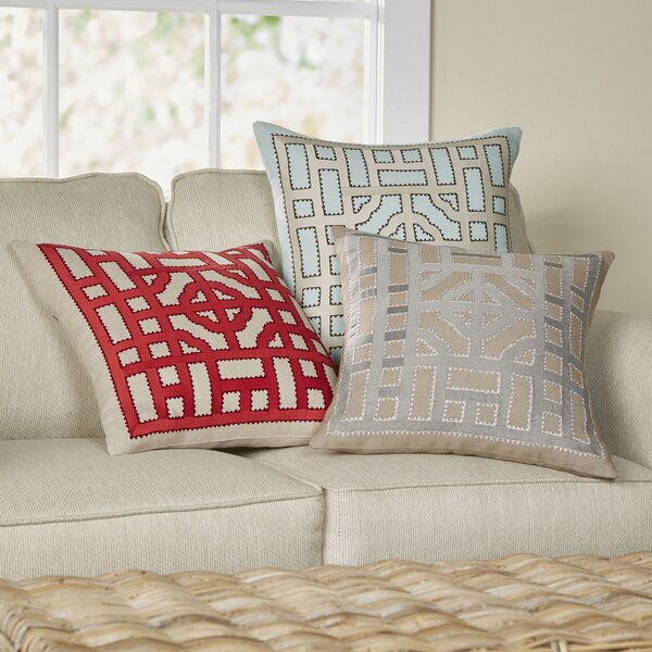 Mattea Linen Throw Pillow Cover by Birch Lane™