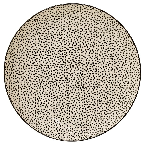 Blakemore Ceramic Dot 9.8 Dinner Plate (Set of 4) by Mint Pantry
