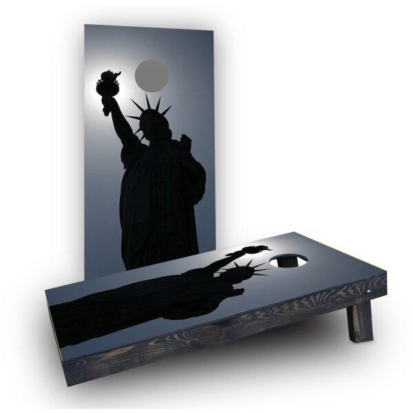 Lady Liberty (Set of 2) by Custom Cornhole Boards