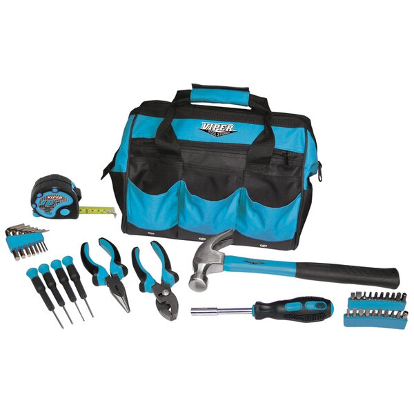 30 Piece Tool Set with Bag by Viper Tool Storage