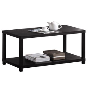 Review Mattocks Bottom Shelf Wooden Coffee Table By Winston Porter