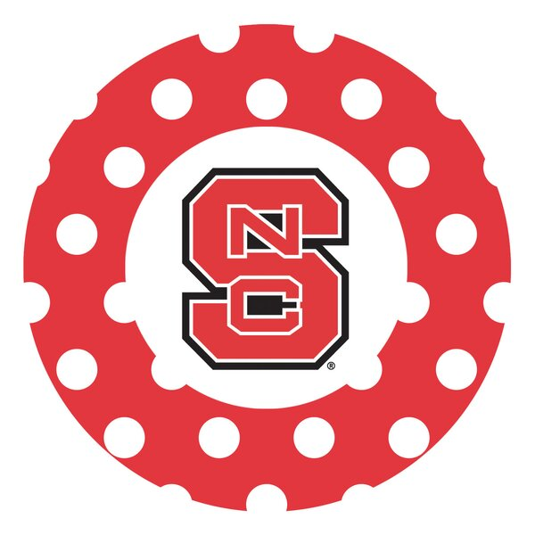 North Carolina State University Dots Collegiate Coaster (Set of 4) by Thirstystone