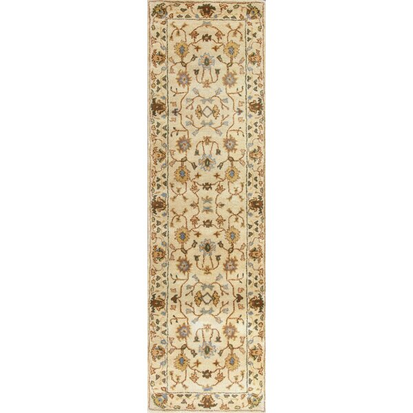 Auer Ivory Tabriz Rug by Alcott Hill