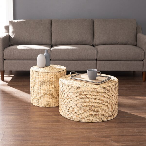 Satalia 2 Piece Coffee Table Set By Bayou Breeze