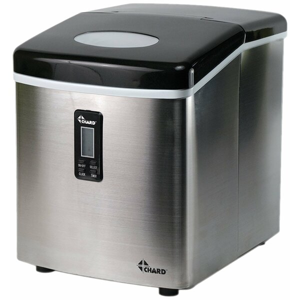 35 lb. Daily Production Portable Ice Maker by Chard