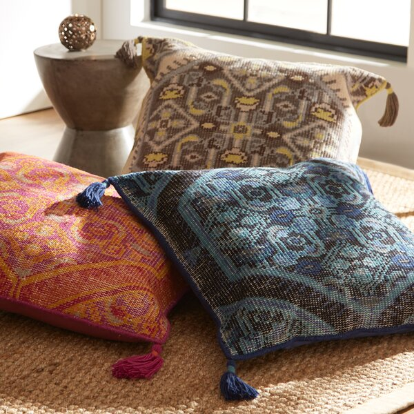 Mumbai Wool Pillow Cover by Birch Lane™