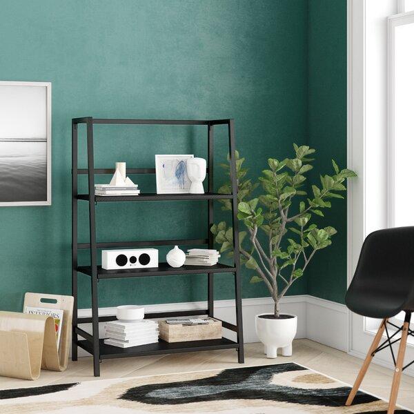 Albarado 3 Tier Folding Etagere Bookcase by Ebern Designs