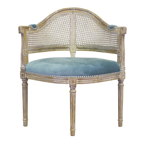 Caned Lounge Chair by Design Tree Home