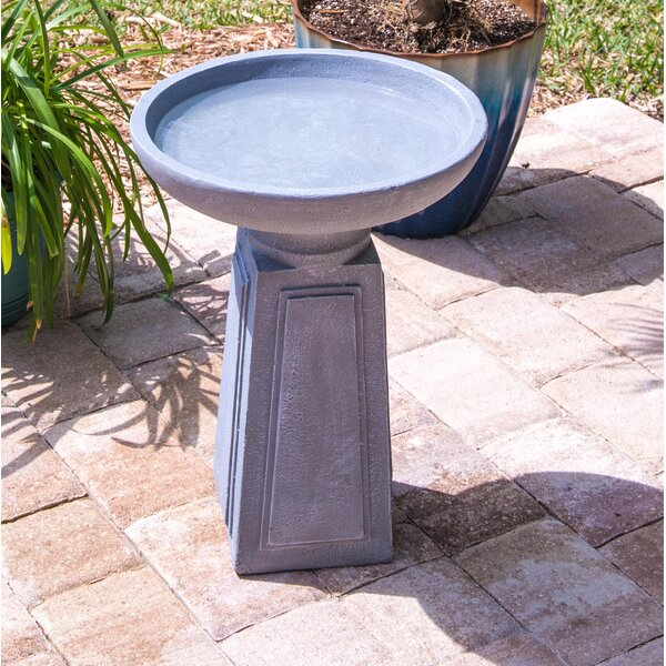 Altar Outdoor Birdbath by Wildon Home ®