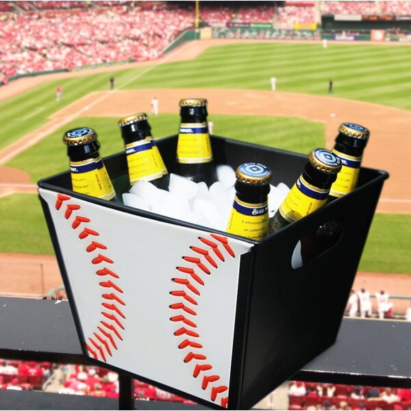 Baseball Textured Beverage Bucket by BREKX