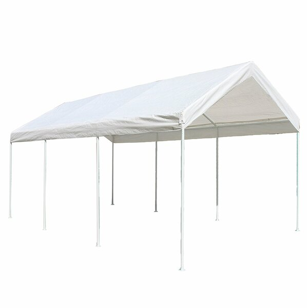 Heavy Duty 10 Ft. W x 20 Ft. D Steel Party Tent by ALEKO