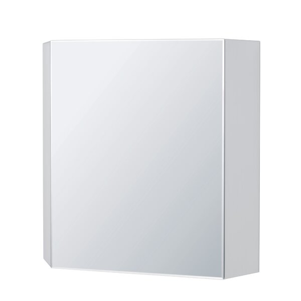 Brit 27.56 W x 27.56 H Wall Mounted Cabinet by Ronbow