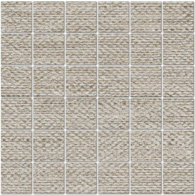 Craft 2 x 2 Porcelain Mosaic Tile in Rope by Tesoro