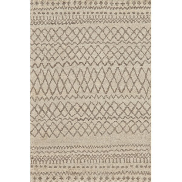 Bluestem Hand-Tufted Natural/Ivory Area Rug by Union Rustic