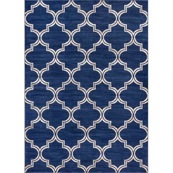 Abramowitz Blue Area Rug by Charlton Home