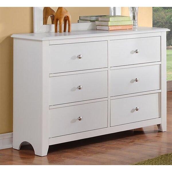 Derwin 6 Drawer Double Dresser by Ebern Designs