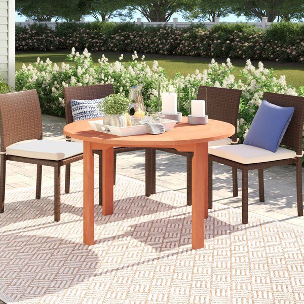 Brighton Wooden Dining Table by Sol 72 Outdoor