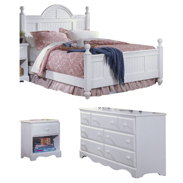 Kai Cottage Panel Configurable Bedroom Set by Harriet Bee
