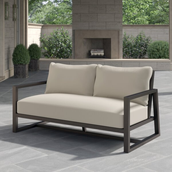 Avondale Loveseat with Cushions by Summer Classics