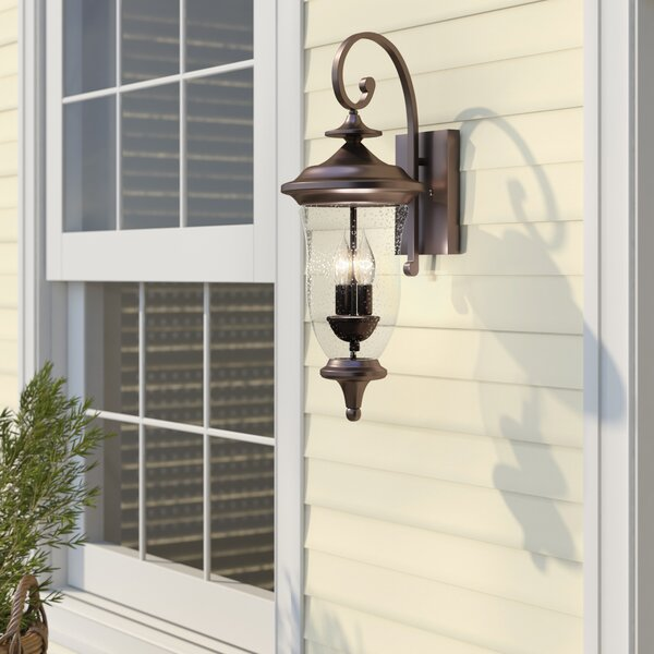 Quarry 2-Light Outdoor Wall Lantern by Birch Lane™ Heritage