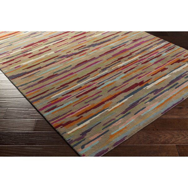 Cassady Hand-Tufted Area Rug by Brayden Studio
