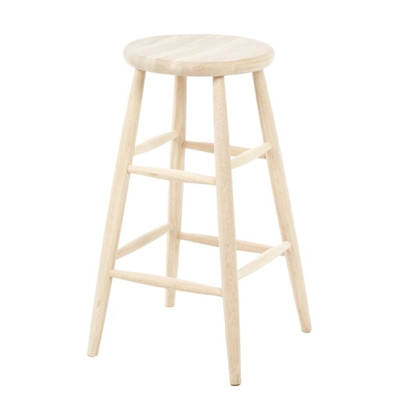 Toby 30 Backless Bar Stool by August Grove