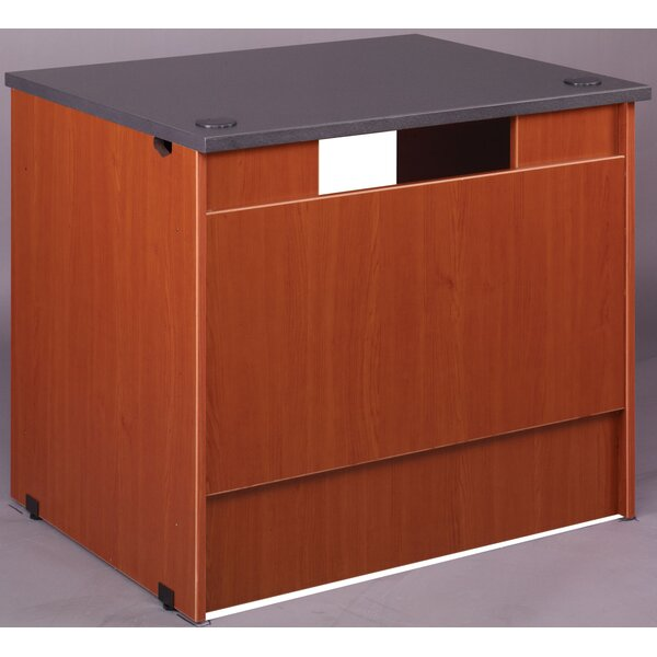 Library 30 H x 36 W Desk Return by Stevens ID Systems