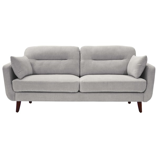 Chloe Mid-Century Modern Loveseat by Elle Decor Elle Decor