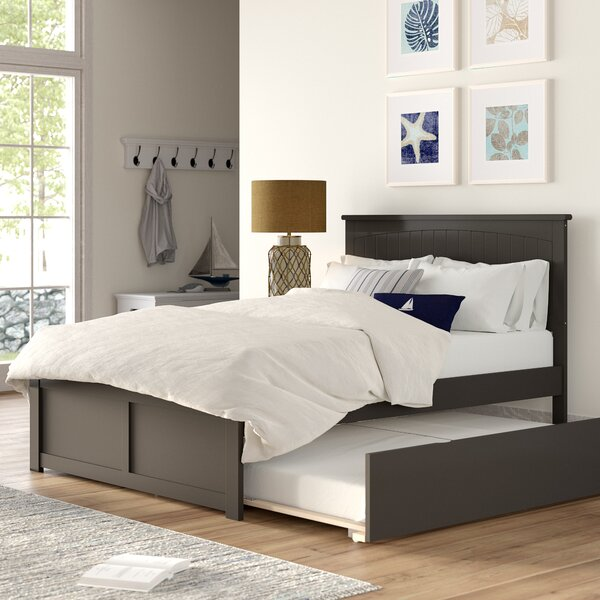 Bolin Full Platform Bed with Trundle by Isabelle & Max