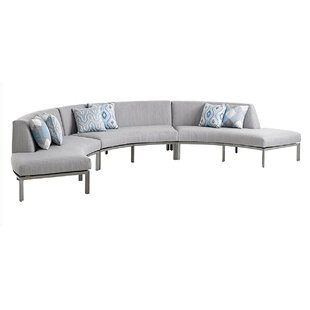 Del Mar Curved Sectional with Cushion